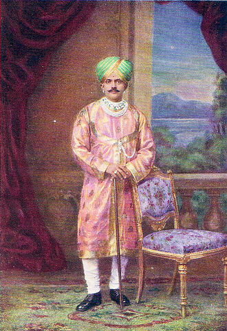 Musicians of the Kingdom of Mysore - King Krishnaraja Wodeyar IV