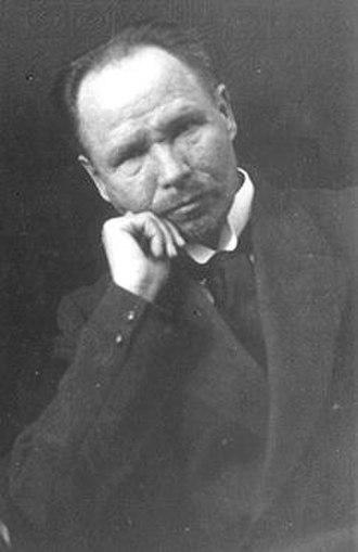 Kristjan Raud - Kristjan Raud, from Estonica (date unknown)