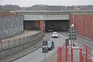 Krohnstiegtunnel for Tunnel schnelsen