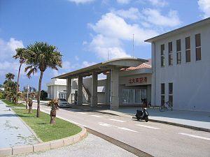 Kitadaitō, Okinawa - Kitadaitō Airport