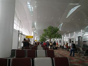 Kualanamu International Airport - 2nd floor waiting room
