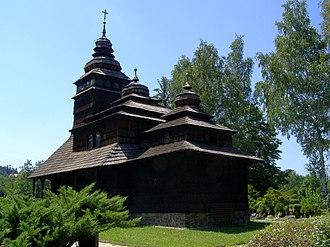 Kunčice pod Ondřejníkem - Image: Kunčice pod Ondřejníkem, kostel, celek
