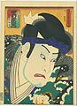 Kunisada, Utagawa, Nakamura Utaemon IV as Matsuomaru, 1863.jpg