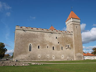 Northern Crusades - Kuressaare Castle, Estonia, constructed by the Teutonic Order