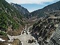 Kurobe River Viewed from Kurobe Dam 黑部壩看黑部川 - panoramio.jpg