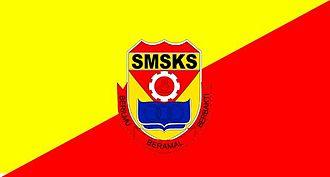 SMS Kuala Selangor - Flag of KUSESS