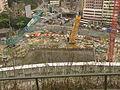 Kwun Tong Line construction site of Ho Man Tin Station.JPG