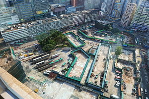 Kwun Tong - Yue Man Square under redevelopment