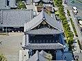 Kyoto Kyoto Tower Blick auf Higashi Hongan-ji 5.jpg