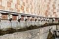 L'aquila, fontana delle 99 cannelle, mascheroni 03.jpg