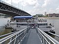 Lánchíd (ship, 1986), 'Boráros tér H (Petőfi híd)' pier, 2018 Ferencváros.jpg
