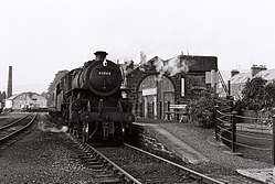 LMS 2-6-0 43045 at Langholm station (1962).JPG