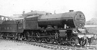LMS Royal Scot Class - LMS Royal Scot class No. 6137 'Vesta', 1928.