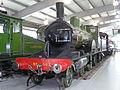 LSWR Adams T3 4-4-0 563 (1893) Locomotion Shildon 29.06.2009 P6290029 (9989535936).jpg