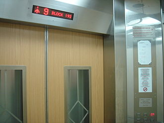 Lift Upgrading Programme - Image: LUP Interior