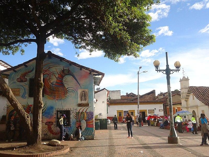 Pontos turísticos de Bogotá: Chorro de Quevedo