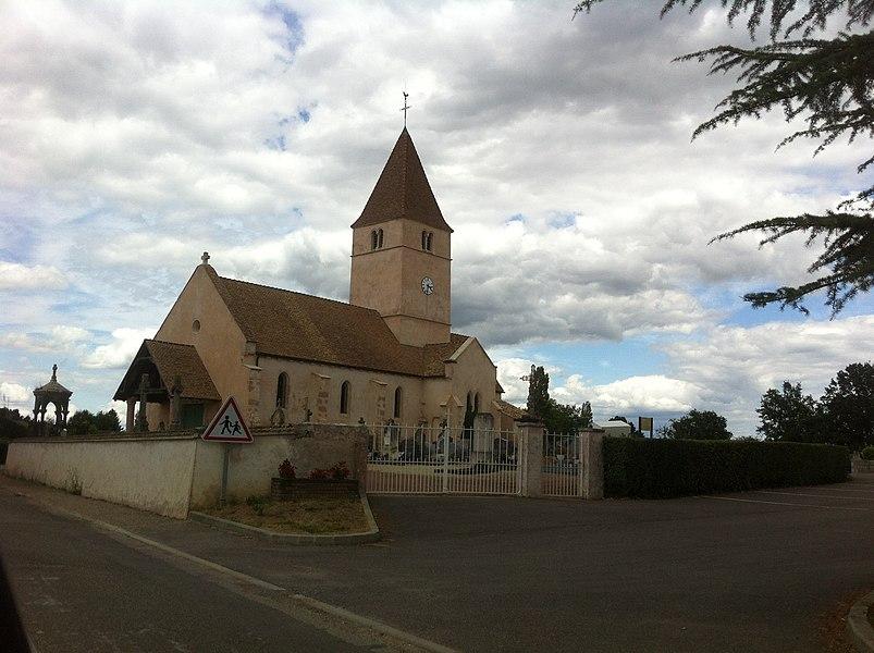 Église de la Genète (71), France