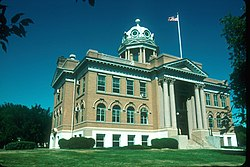 LaMoure County Courthouse in LaMoure