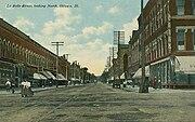 La Salle Street, Looking North, Ottawa, IL