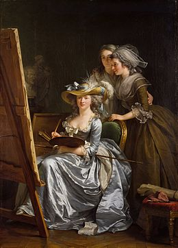 Labille-Guiard, Self-portrait with two pupils.jpg