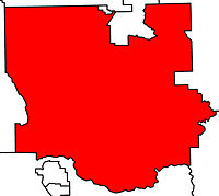 LacombePonoka electoral district 2010.jpg
