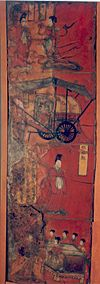 Lacquer painting over wood2, Northern Wei.jpg