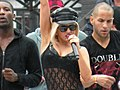 Lady Gaga MuchMusic 2009 soundcheck 02.jpg
