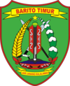 Official seal of East Barito Regency