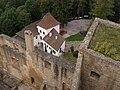 Landštejn, hrad, 1. brána 03.jpg