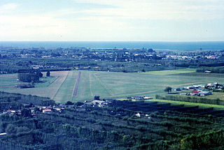 Motueka Aerodrome airport in New Zealand