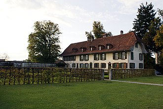 Bümpliz-Oberbottigen - The Brünnen country estate.