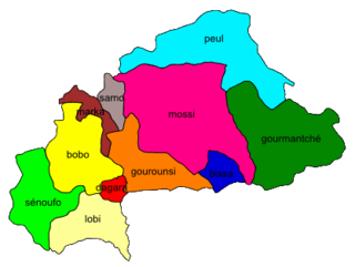 Mossi language one of two official regional languages of Burkina Faso
