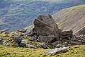 Large boulder by the path down from Scafell Pike - geograph.org.uk - 1331359.jpg