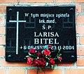Larisa Bitel Plaque, Gdansk.JPG