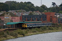 Larne Town railway station in 2006.jpg