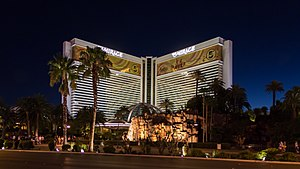 The Mirage - Image: Las Vegas (Nevada, USA), The Strip 2012 6215