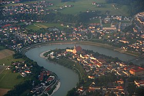 Laufen city in germany from top.jpg