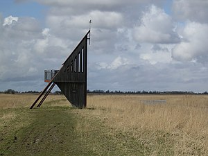 Lauwersmeer National Park - Image: Lauwersmar kollumerwaard de baak