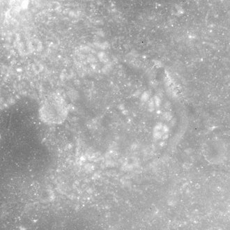 Lawrence (crater) - Apollo 15 mapping camera image