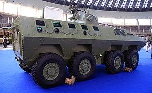 Lazar armored vehicle - Image: Lazar 2 3