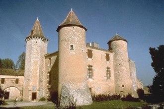 Guillaume de Salluste Du Bartas - Château du Bartas (built 1569)