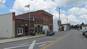 Leesburg, Ohio - Business district