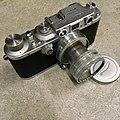 Leica IIIb 1940 with 1949 Summitar (32170489673).jpg