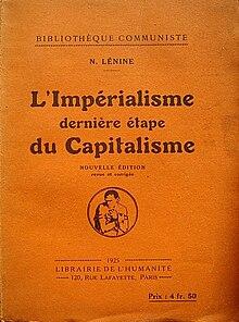 Der Imperialismus als höchstes Stadium des Kapitalismus von Wladimir Iljitsch Lenin