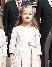 HRH Leonor, Princess of Asturias