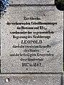 Leopoldsdenkmal in Riegel, Inschrift.jpg