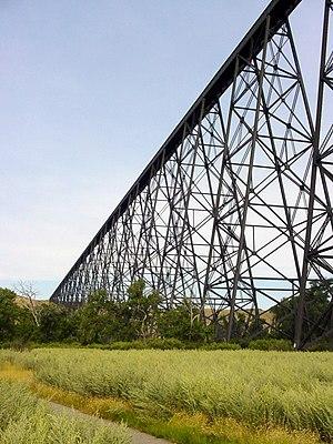 Lethbridge Viaduct - Image: Lethbridge High Level
