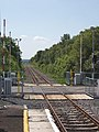 Level Crossing at Foxford station - geograph.org.uk - 486777.jpg