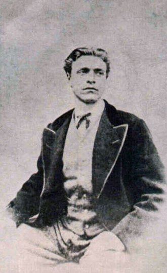 Vasil Levski - Vasil Levski at the time of the creation of his internal revolutionary network