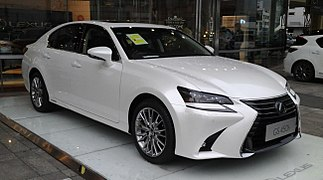 Lexus GS L10 Hybrid facelift China 2016-04-16.jpg